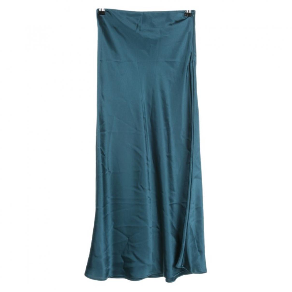 Galvan London - Jupe   pour femme - bleu