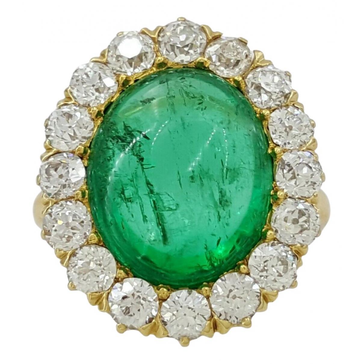 Tiffany & Co - Bague   pour femme en or jaune - vert