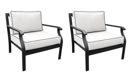 KI062B-CC-DB Madison Ave. Club Chair (2 Per Box) with 1 Set of Snow