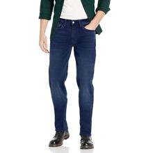 Einfarbige Jeans mit Taschen Detail