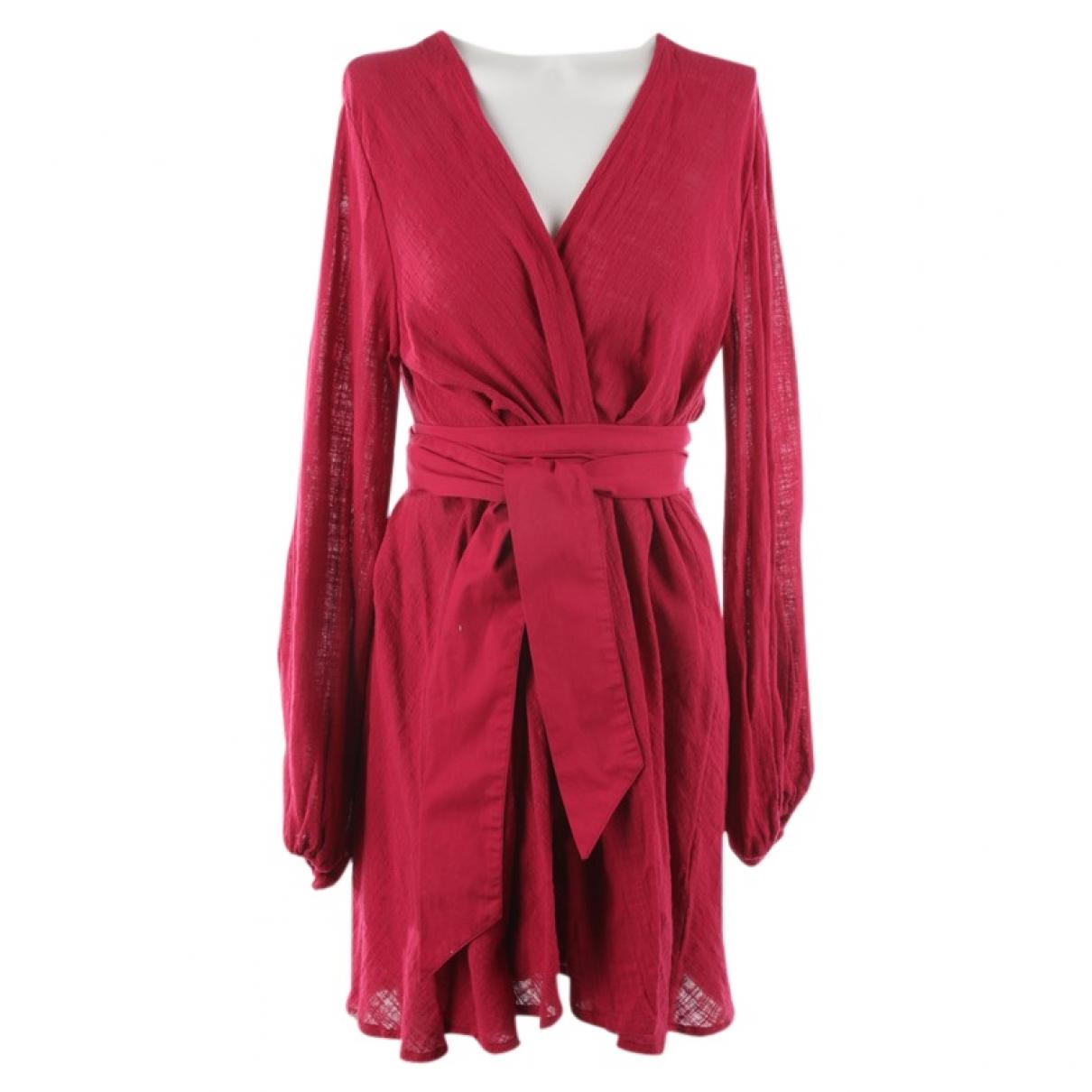 Kalita \N Kleid in  Rot Baumwolle