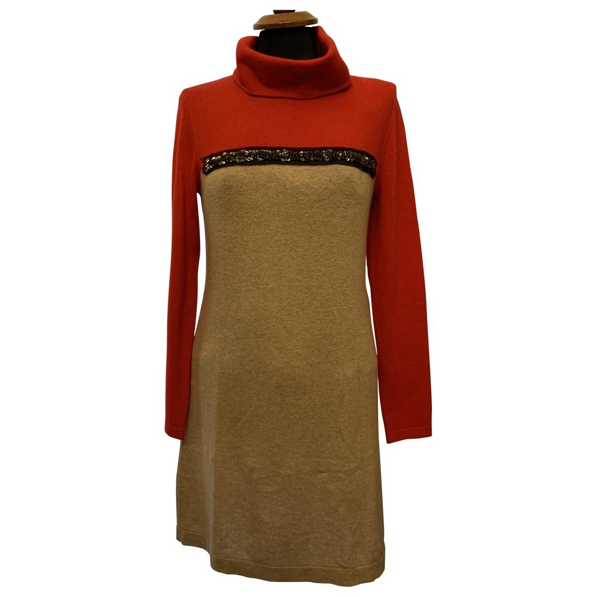 Laurel - Robe   pour femme en laine - beige