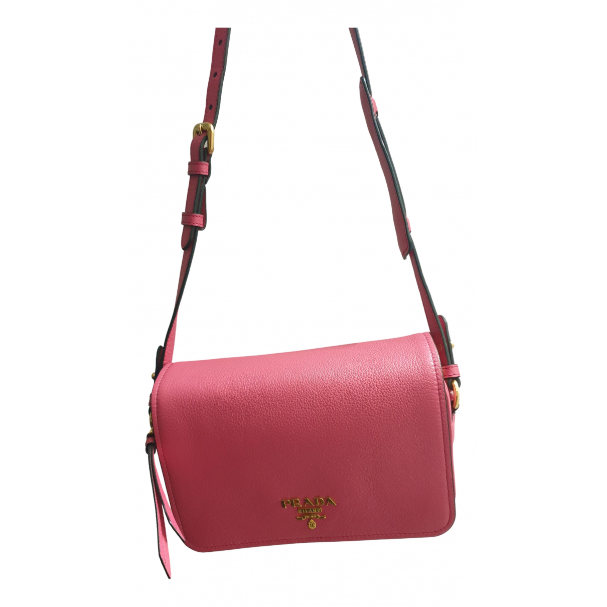 Prada N Pink Leather handbag for Women N