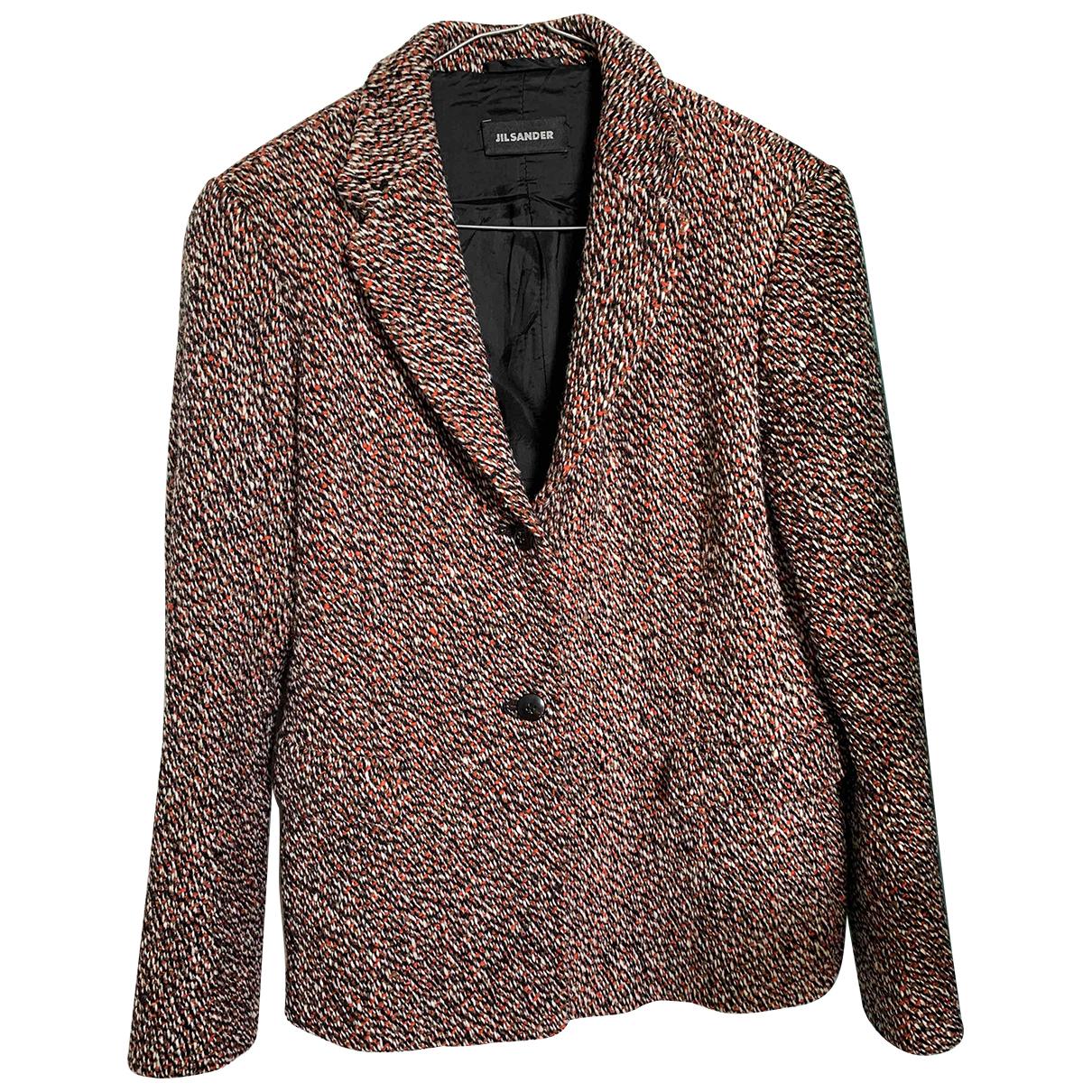 Jil Sander - Veste   pour femme en laine - multicolore