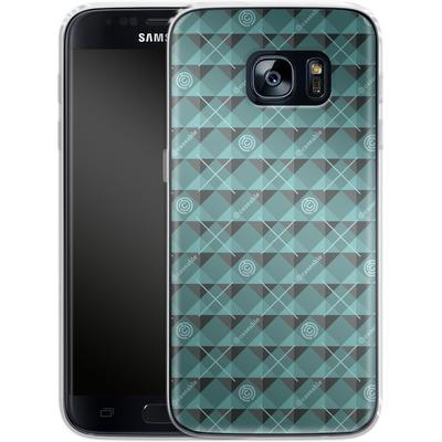 Samsung Galaxy S7 Silikon Handyhuelle - caseable Pattern von caseable Designs