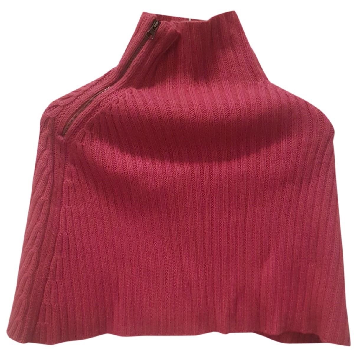 Scaglione - Pull   pour femme en cachemire - rose