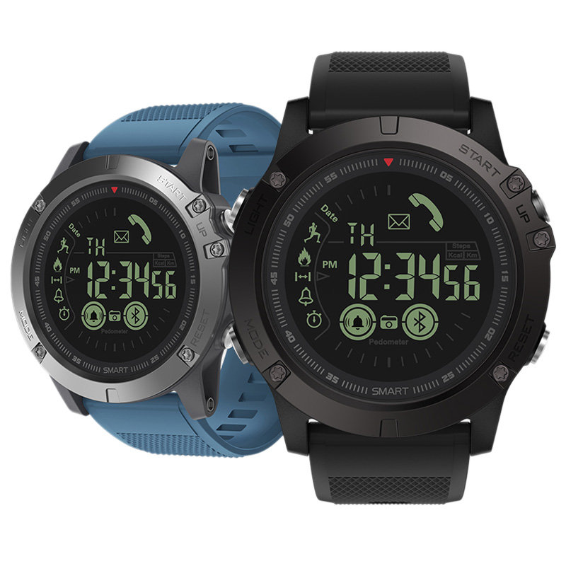 ZEBLAZE VIBE 3 24 Hours Activity Record Sport Activity Monitor 33 Month Long Standby Smart Watch for Android iOS