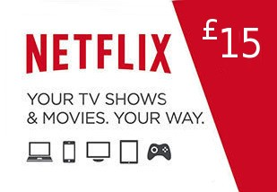 Netflix Gift Card £15 UK