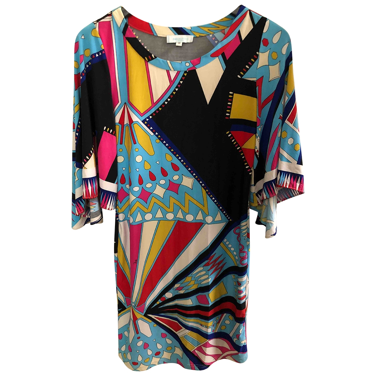Emilio Pucci \N Multicolour Silk dress for Women 36 FR