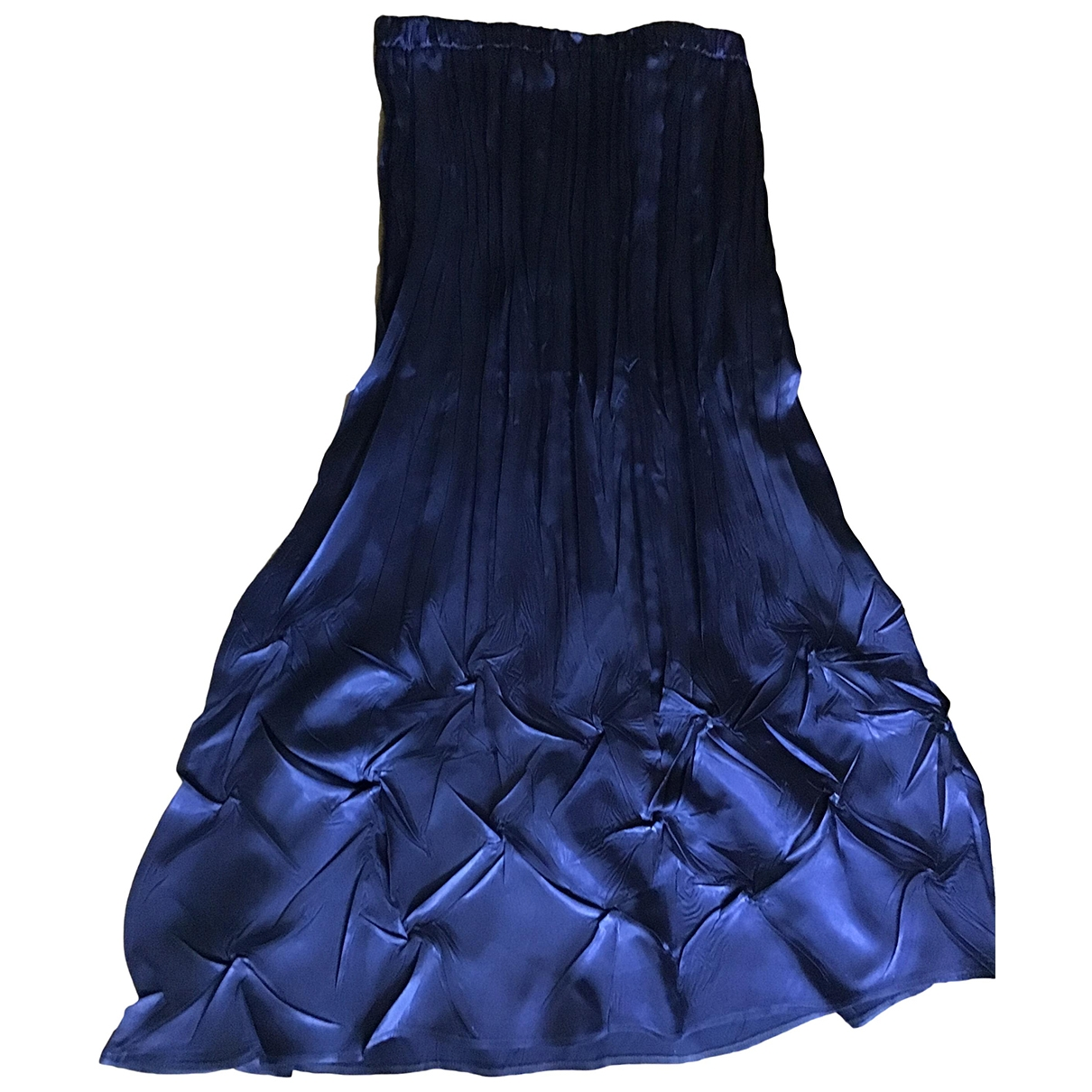 Non Signé / Unsigned \N Blue skirt for Women One Size FR