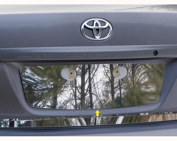 Quality Automotive Accessories 1-Piece License Plate Bezel Toyota Corolla 2010