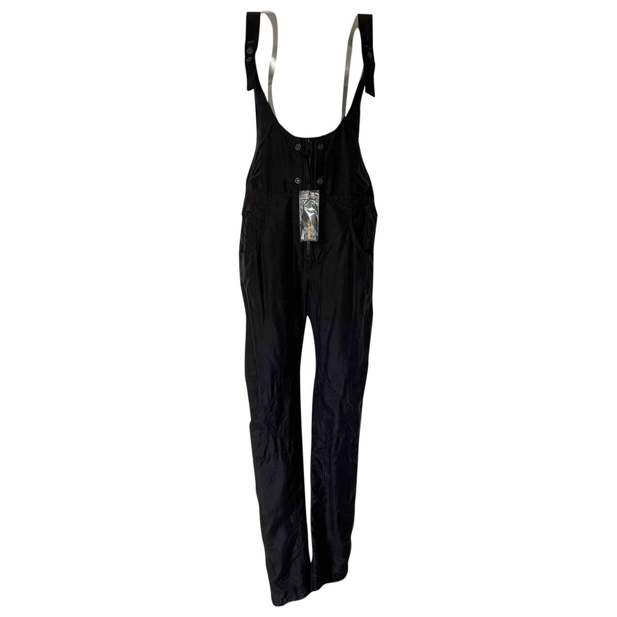 Diesel Black Gold \N Jumpsuit in  Marine Baumwolle