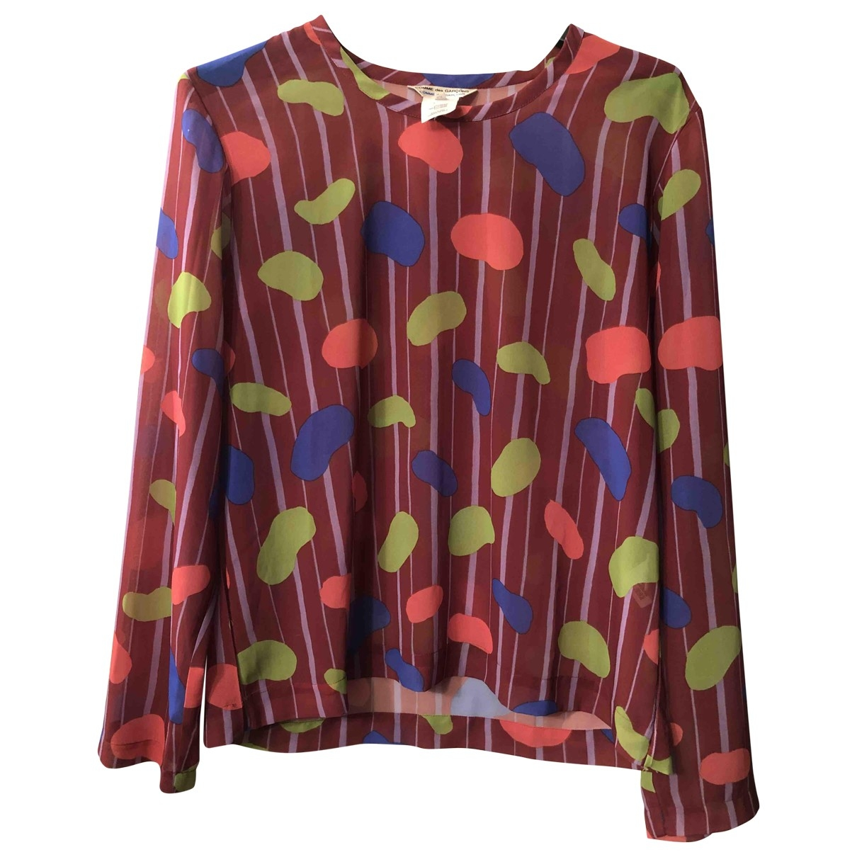 Comme Des Garcons \N Top in  Bordeauxrot Polyester