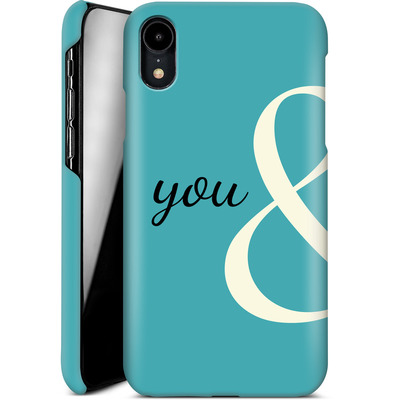 Apple iPhone XR Smartphone Huelle - You And von caseable Designs