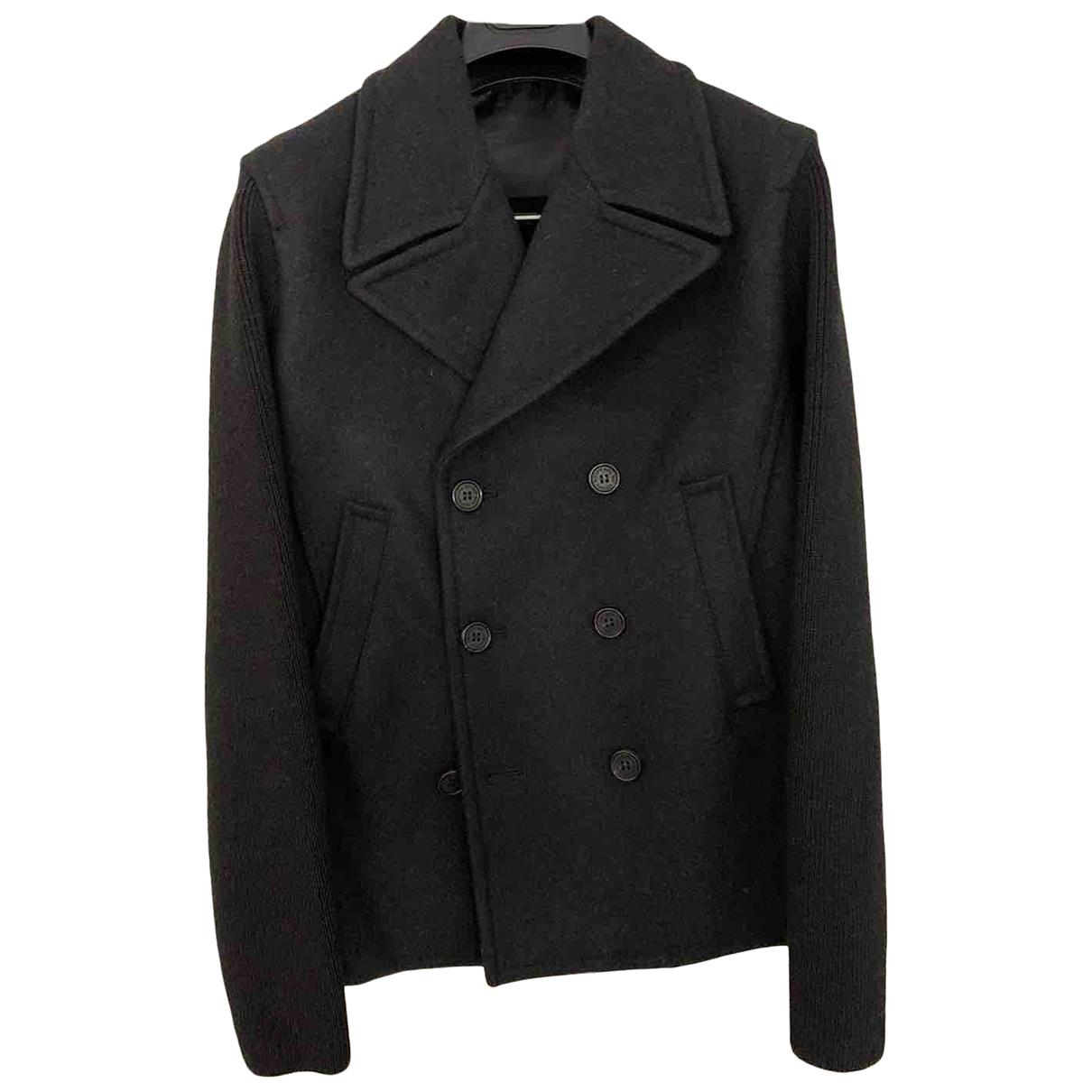 Neil Barrett - Manteau   pour homme en laine - gris