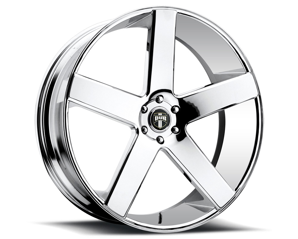 DUB S115 Baller Chrome 1-Piece Cast Wheel 22x9.5 6x135 31mm