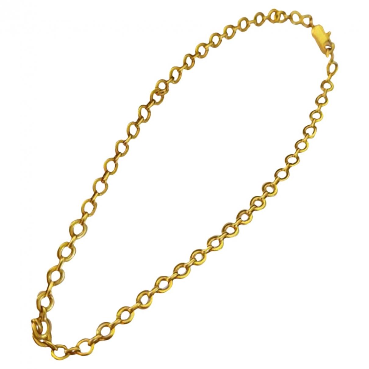 Collar de Oro amarillo Carrera Y Carrera