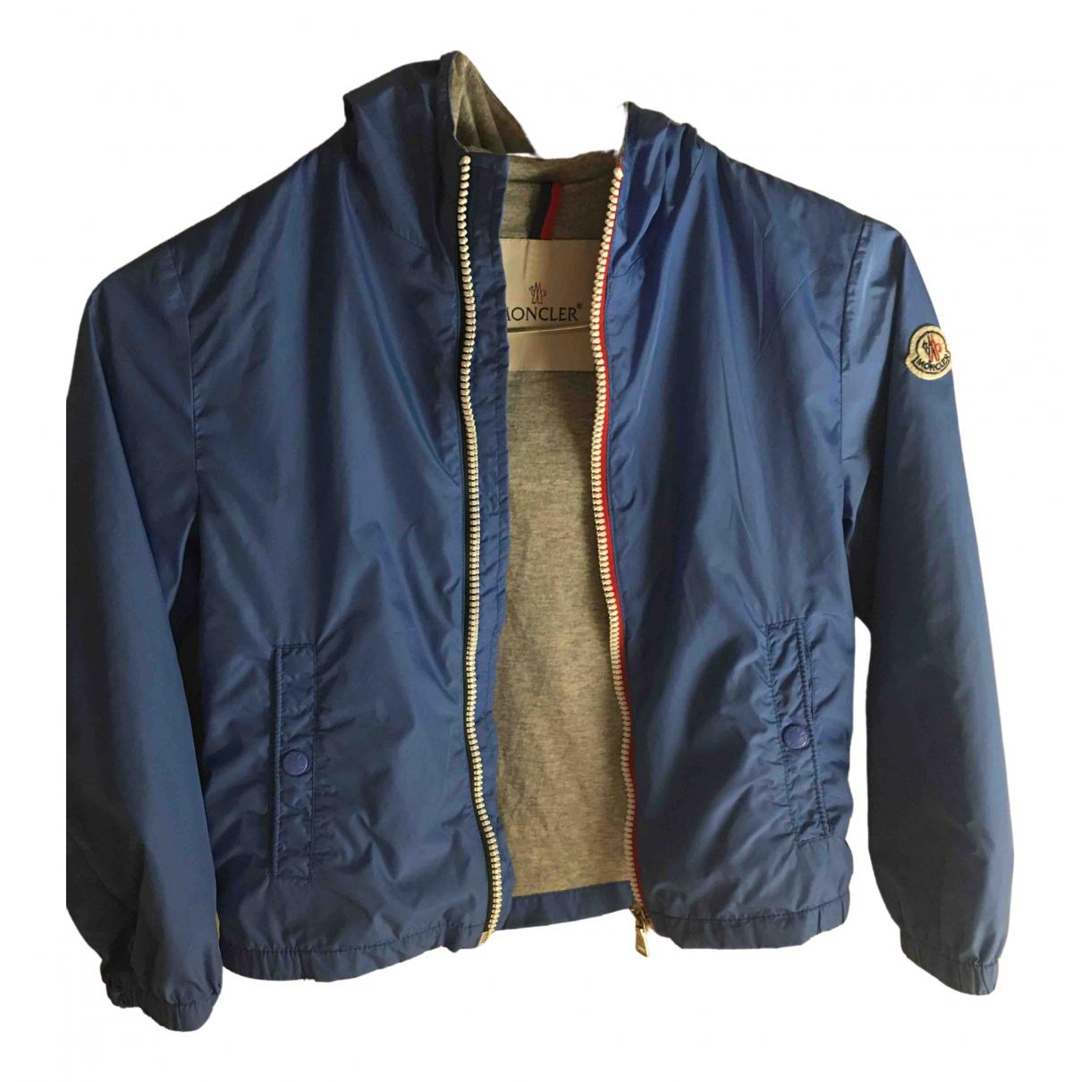 Moncler \N Blue jacket & coat for Kids 6 years - up to 114cm FR