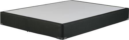 Foundation Collection M80X32 Queen Size Foundation with All Wood Construction  Minimalistic and Stylish Cover in