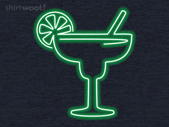 Neon Margarita T Shirt