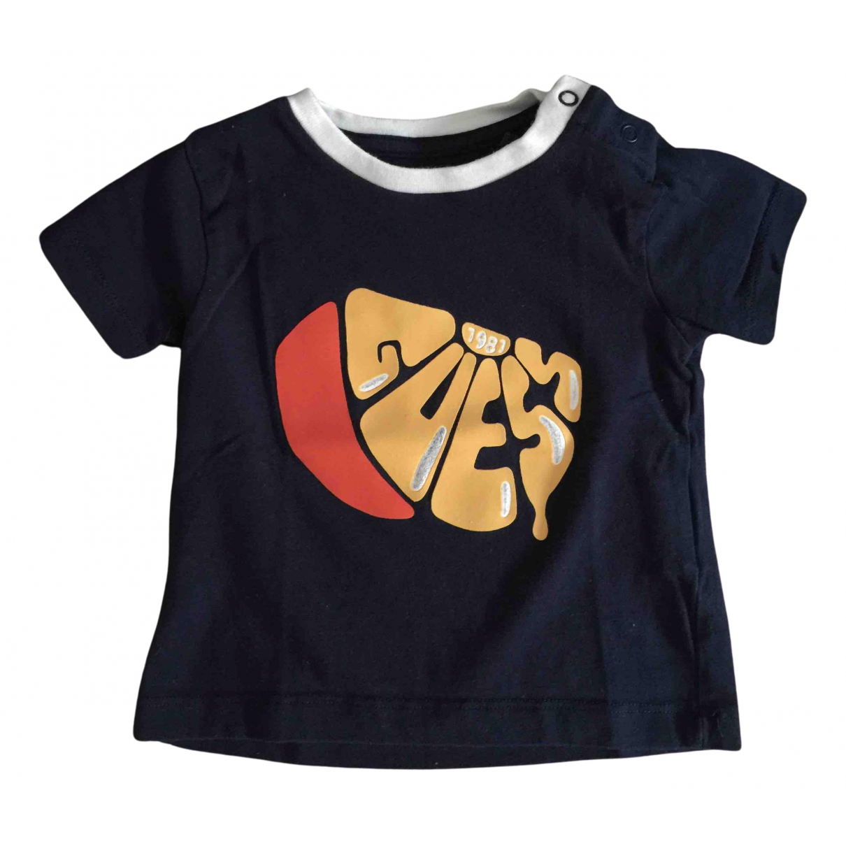 Guess N Blue Cotton  top for Kids 9 months - up to 71cm FR