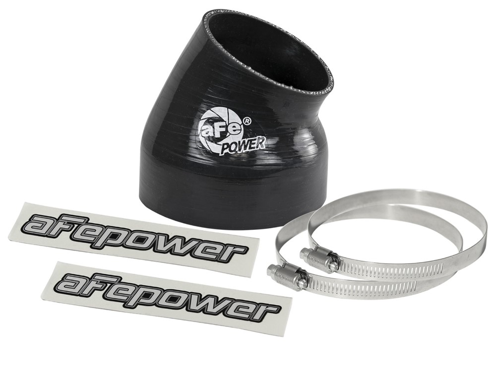 aFe Magnum FORCE Cold Air Intake System (4 IN ID x 30 Deg.) Elbow Coupler - Black