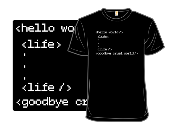 Life Encoded T Shirt