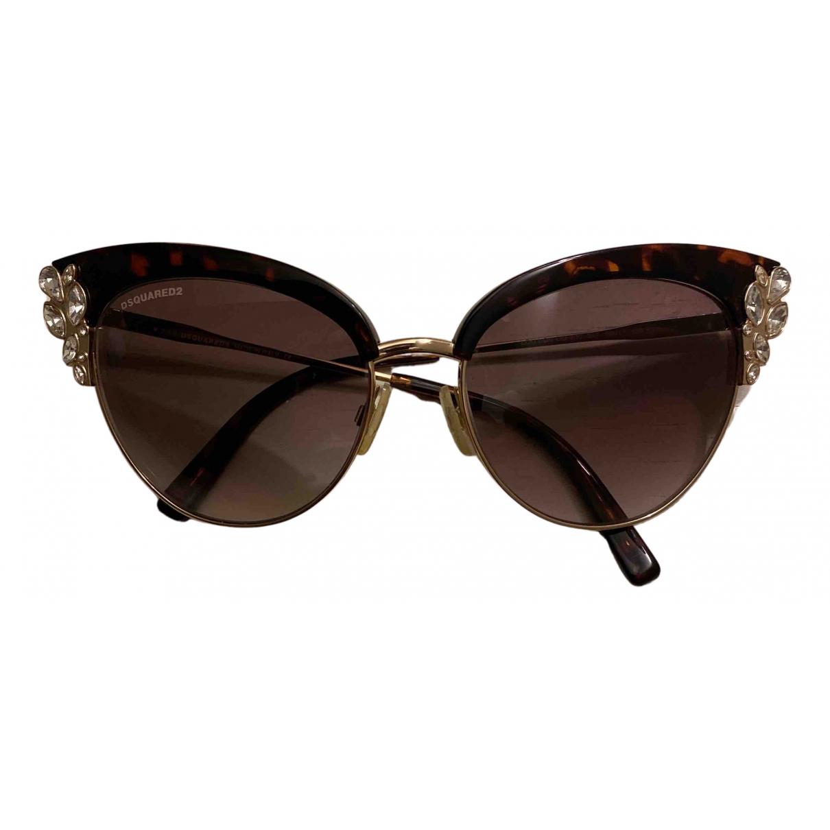 Dsquared2 \N Sonnenbrillen in  Gold Metall