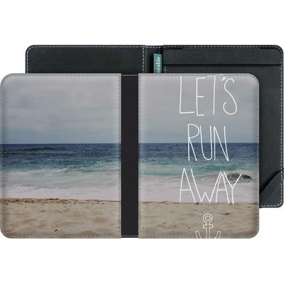 tolino vision eBook Reader Huelle - Lets Run Away - Sandy Beach von Leah Flores