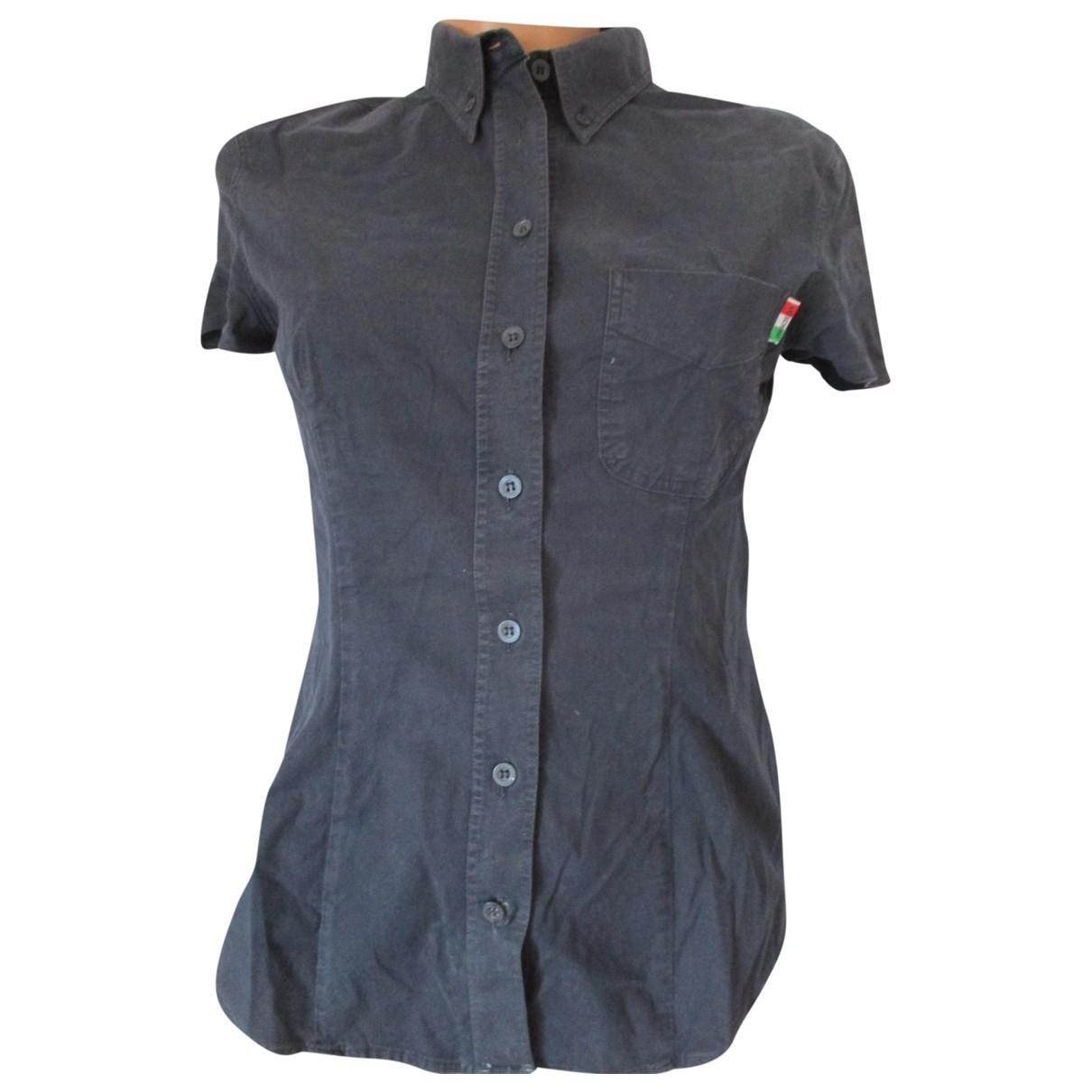Moschino Cheap And Chic - Top   pour femme en coton - bleu