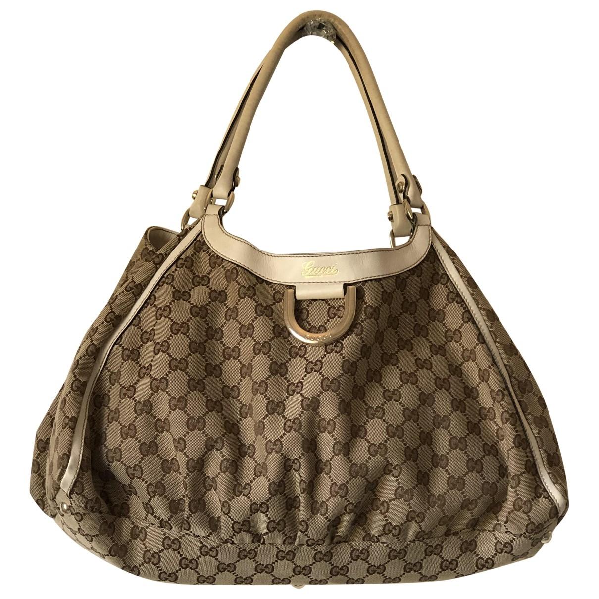 Gucci Sukey Beige Cloth handbag for Women \N