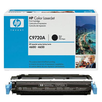HP 641A C9720A cartouche de toner originale noire