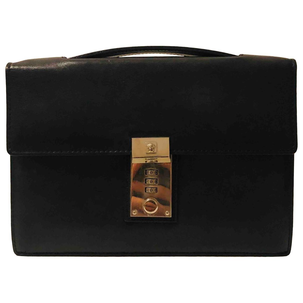 Pochette de Cuero Versace