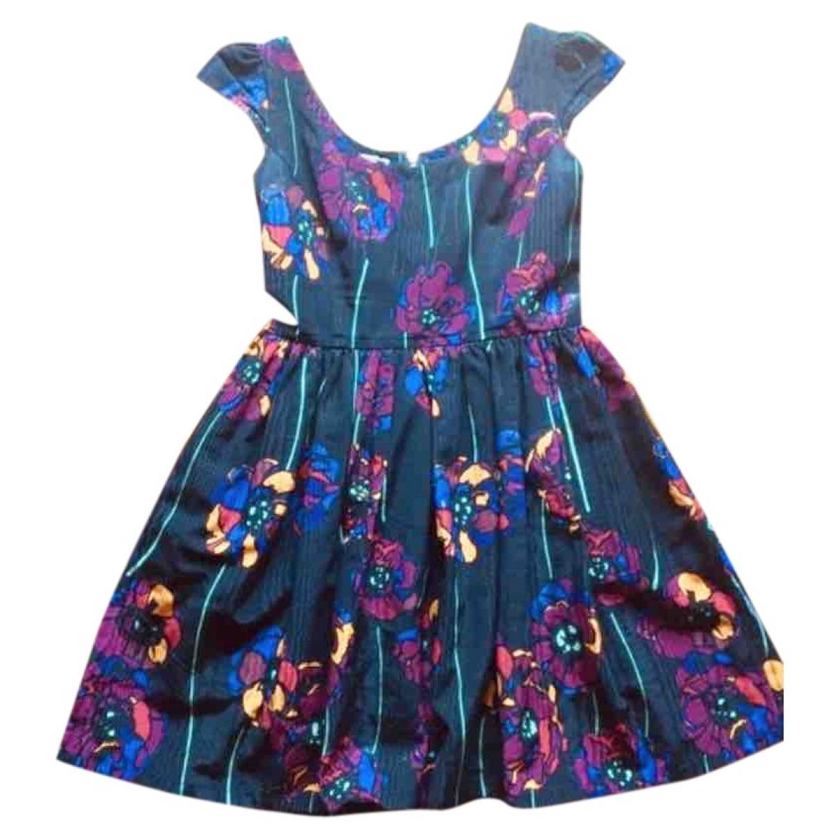 Miu Miu - Robe   pour femme en coton - multicolore