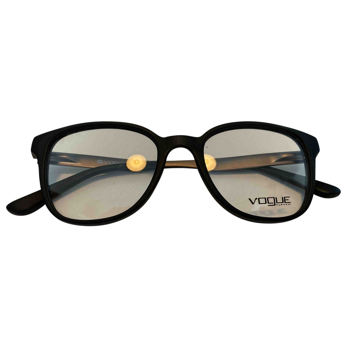 Vogue \N Black Metal Sunglasses for Men \N