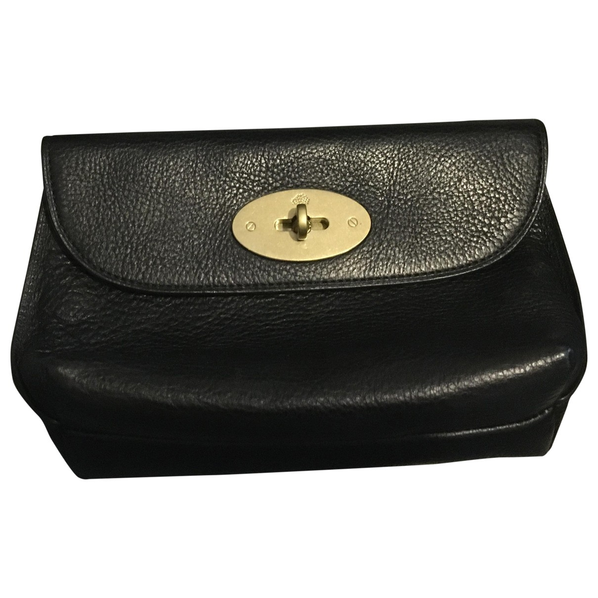 Mulberry Bayswater Black Leather Clutch bag for Women \N