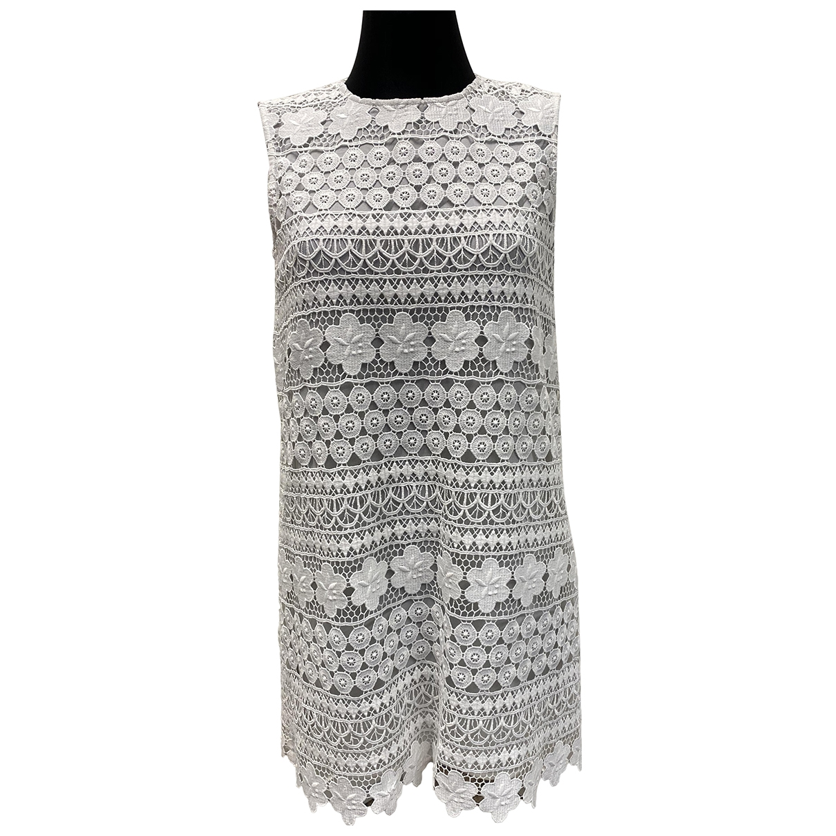 Ermanno Scervino \N Kleid in  Weiss Polyester