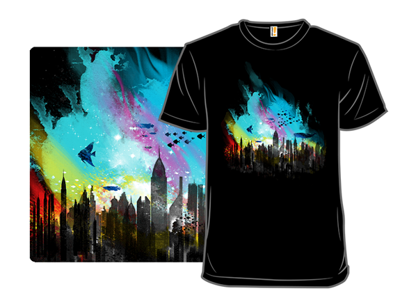 Sunset On Rapture City T Shirt