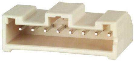Hirose , DF1E, 8 Way, 1 Row, Right Angle PCB Header (10)
