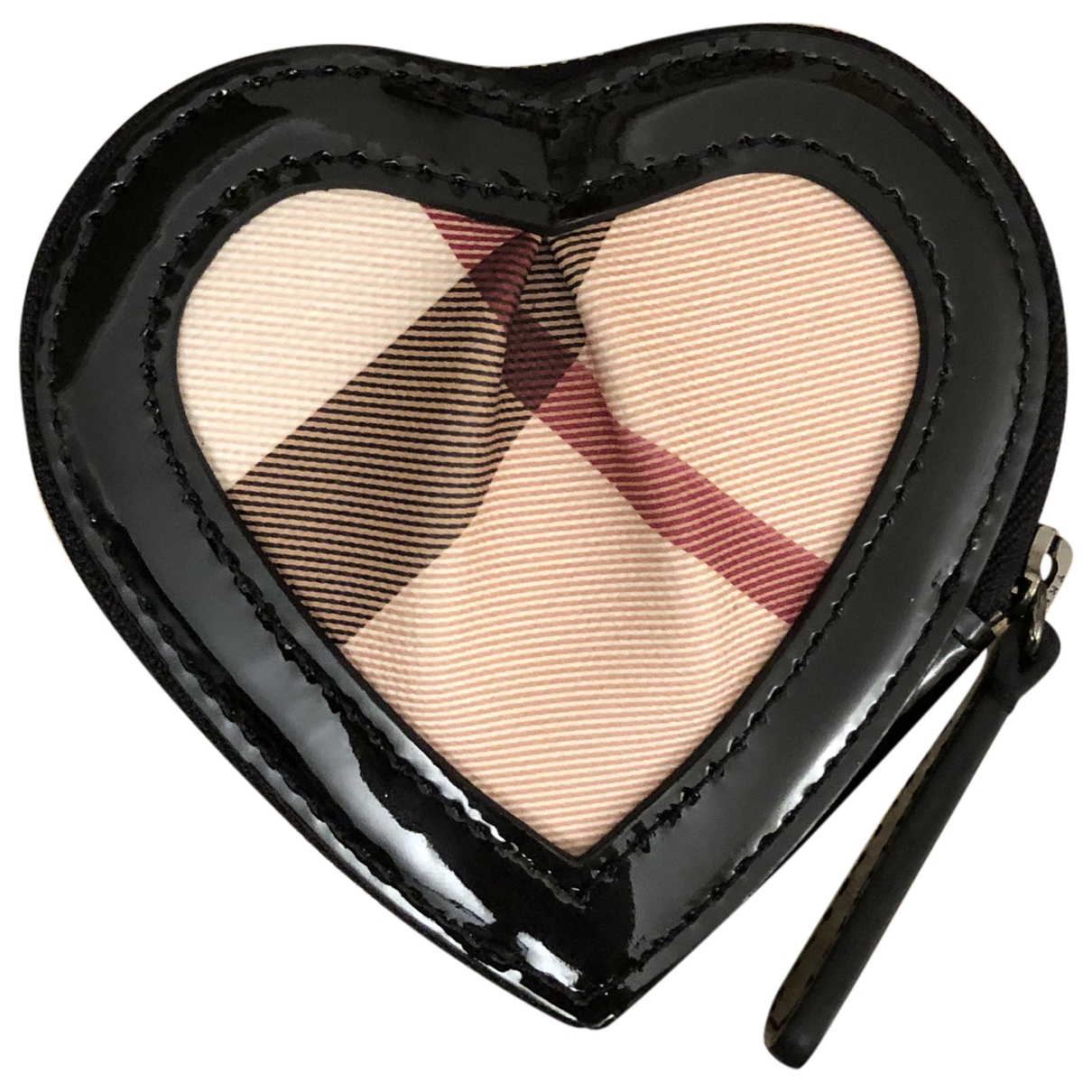 Burberry \N Black Cloth Purses, wallet & cases for Women \N
