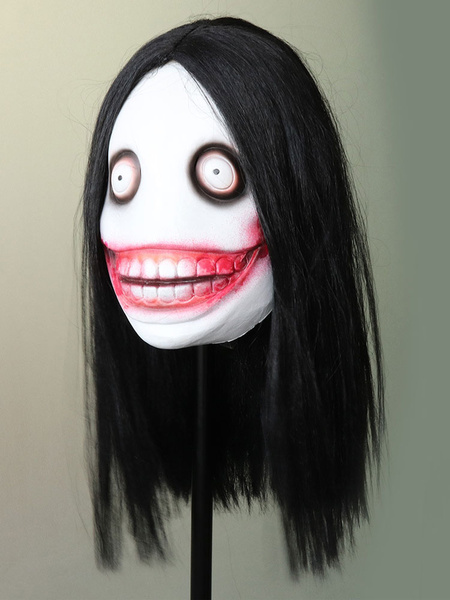 Milanoo Jeff The Killer Monster Urban Legends Halloween Costume Mask Headwear