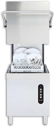 EV22 30 High-Temp Door Type Dishwasher with 60 Racks of Hourly Cleaning  5.25 Gallons Wash Tank Capacity  150 Degrees F Wash Temperature  in