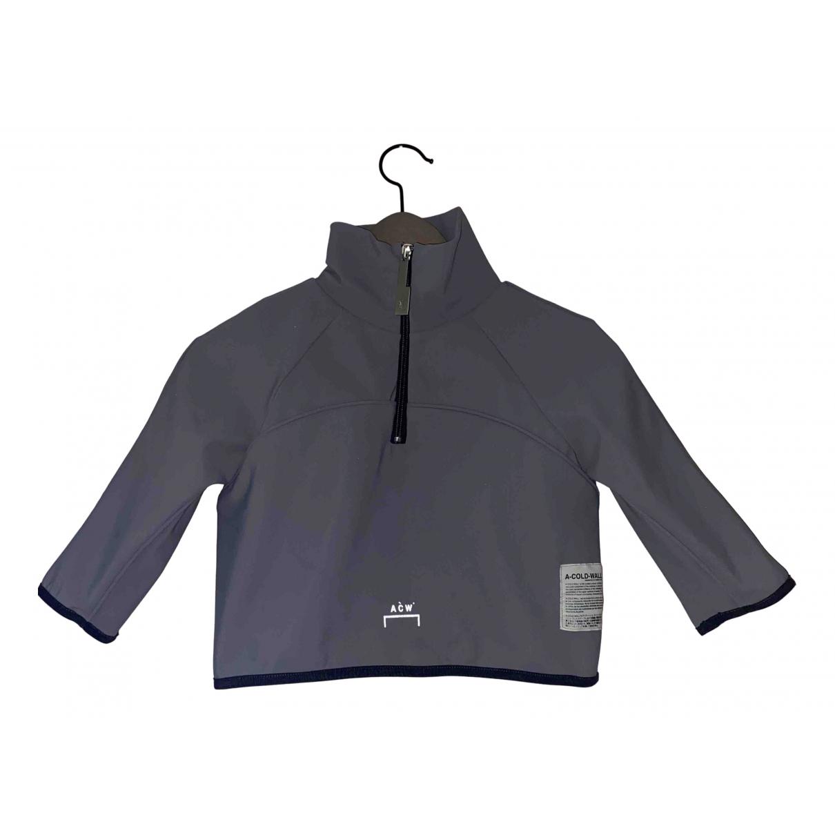 A-cold-wall - Pull   pour femme en coton - gris