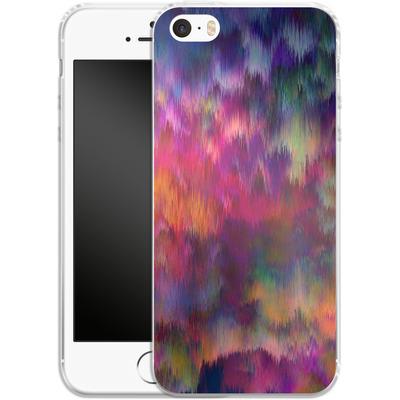 Apple iPhone 5s Silikon Handyhuelle - Sunset Storm von Amy Sia