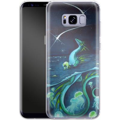 Samsung Galaxy S8 Plus Silikon Handyhuelle - Carla Morrow - Sea of Stars von TATE and CO
