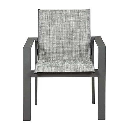 Signature Design by Ashley Okada 4-pc. Patio Dining Chair, One Size , Gray
