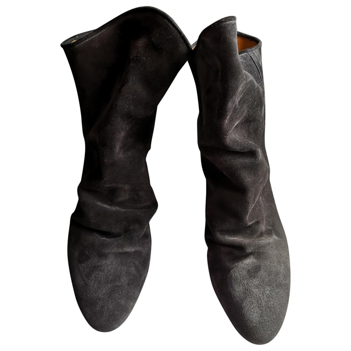 Isabel Marant \N Black Suede Ankle boots for Women 40 EU