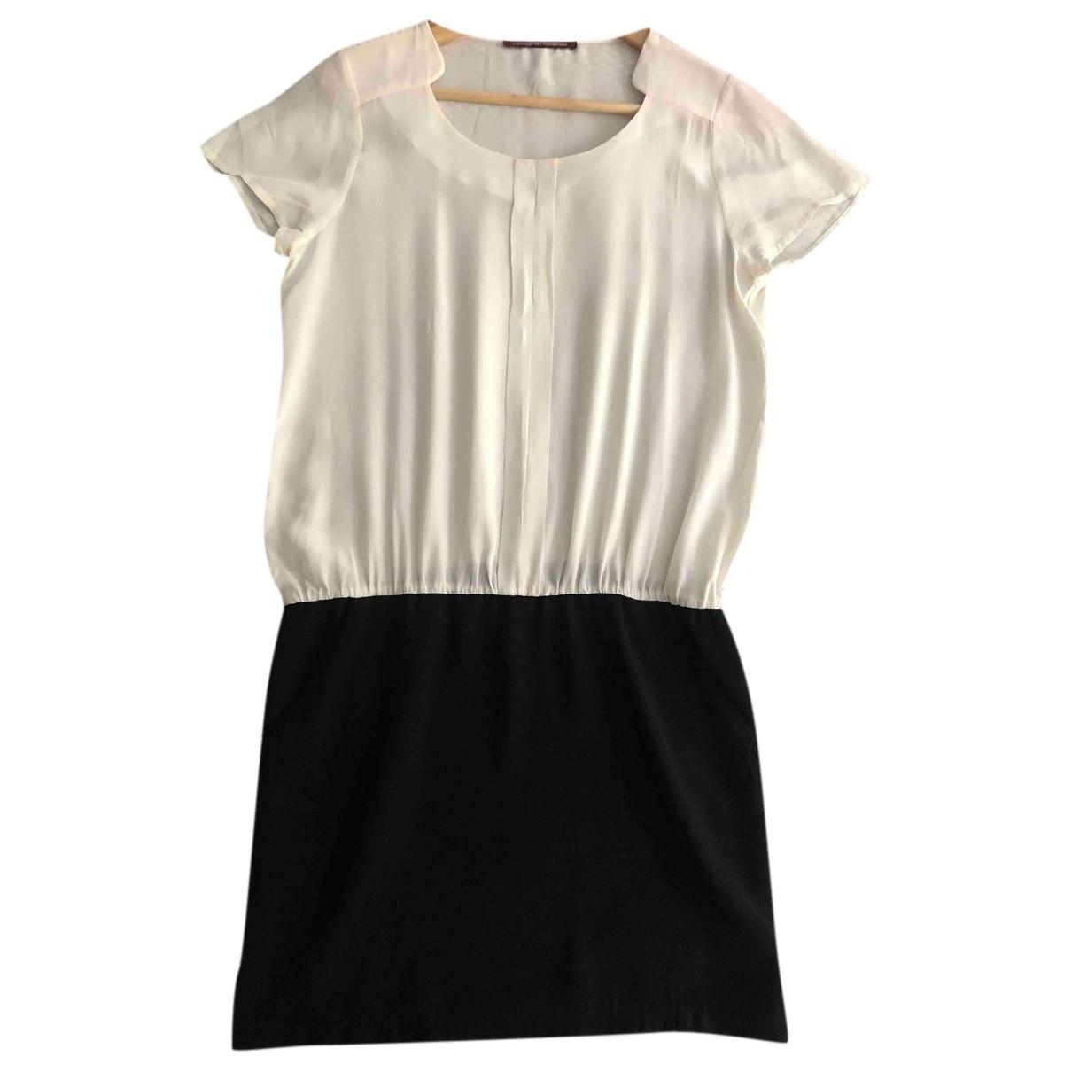 Comptoir Des Cotonniers N White Silk dress for Women 38 FR