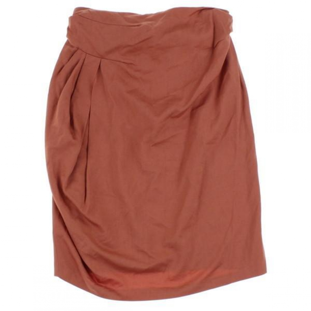Dries Van Noten \N Orange skirt for Women 38 FR