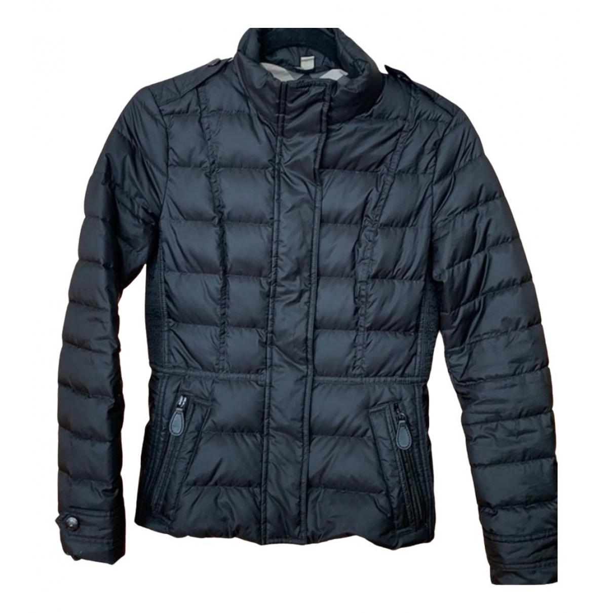 Burberry \N Jacke in  Schwarz Polyester